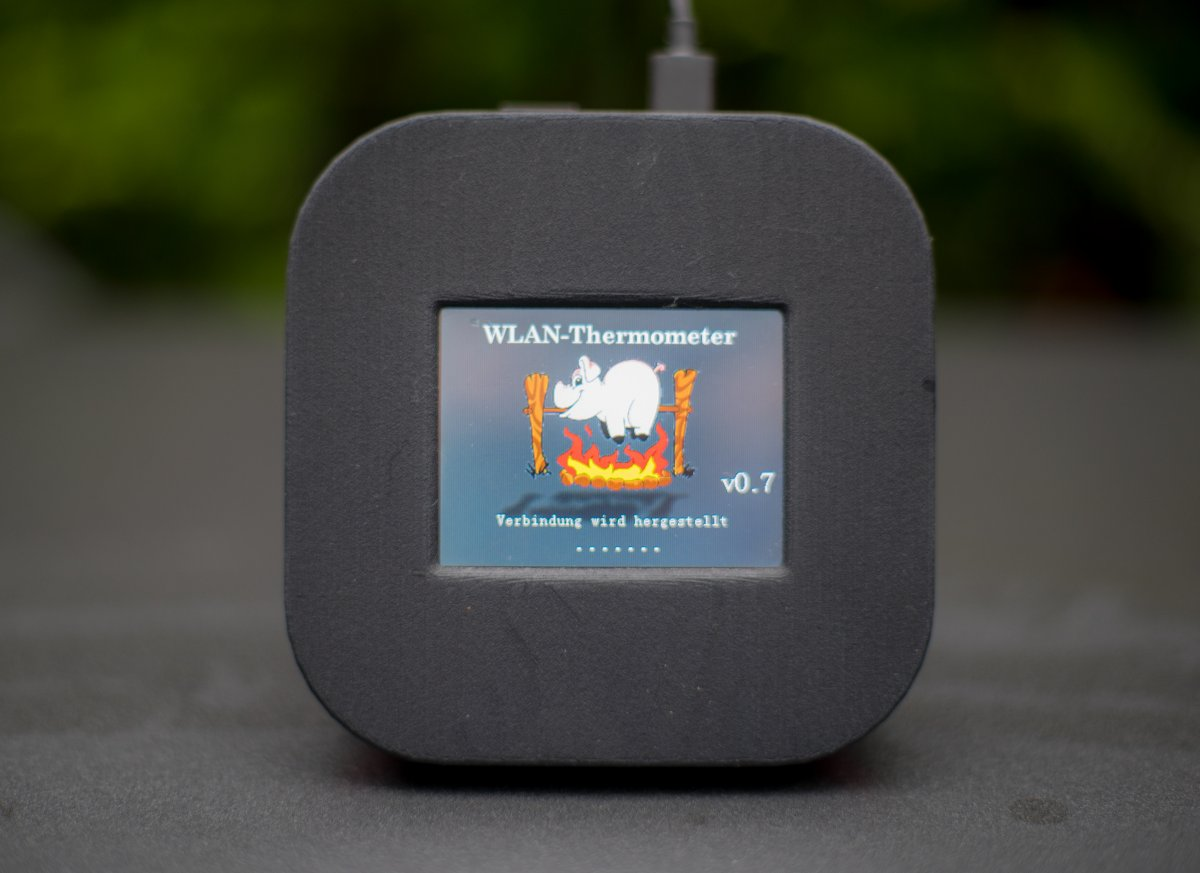 WLAN Grillthermomter